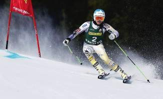 Julia Mancuso competes during the women's giant slalom skiing event at the U.S. Alpine Championships Saturday, in Winter Park. Intrawest Resorts Holdings, which owns and operates the resort, is once again filing to go public.