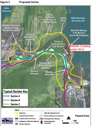 Vail Colorado Map State.Breckenridge Vail Resorts Kick In Funds To Fast Track Highway 9