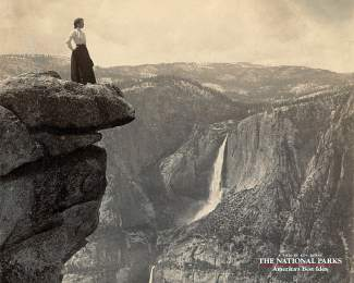 A vintage image from Yosemite National Park.