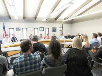 More than 30 people attended a Liquor Licensing Authority hearing Tuesday, May 6, in Dillon to show their support for Lake Dillon Tavern, which was facing seven counts of alleged violations to the Colorado Liquor Code. The Liquor License Authority, aka the Dillon Town Council, found Lake Dillon Tavern not guilty on six out of the seven charges.