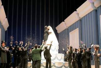 A scene from Act II of 'La Cenerentola,' the final Metropolitan Opera Live in HD broadcast of the season, which will screen at Colorado Mountain College in Breckenridge on Saturday, May 10.