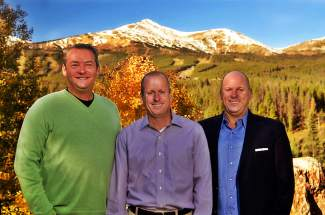 The Breckenridge Grand Vacation founders (from left): Mike Dudick, Rob Millisor and Mike Millisor. This June, Dudick and Mike Millisor combined resources to launch the inaugural Rob Millisor Heart Health Walk, a community fundraiser held at Carter Park.