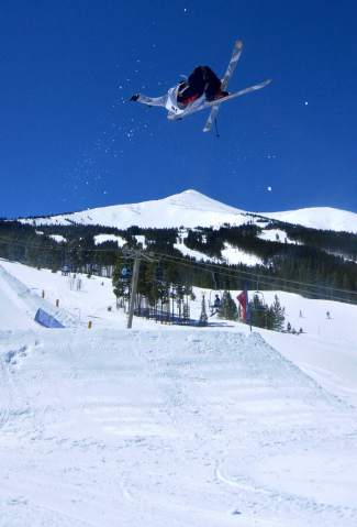 Pat Goodnough at the inaugural Mountain Dew Spring Open on April 2 in Breckenridge.