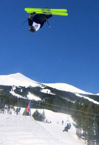 Charlie Brafford at the inaugural Mountain Dew Spring Open on April 2 in Breckenridge.
