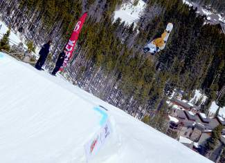 Miller Windham at the inaugural Mountain Dew Spring Open on April 2 in Breckenridge.