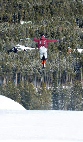 New Zealand national team skier Alec Savery rolls through the Freeway jump line at Breckenridge on Jan. 10. The 20-year-old has been coming to Breck in winter for the past five years.