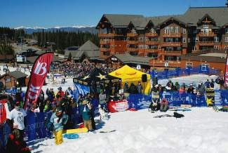One Ski Hill Place stands out in the background at the base of Peak 8 during a Spring Massive event last year in Breckenridge. Occupancy trends for November shows are remaining on pace with last year's numbers.