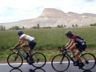 Cyclists pedal through Palisade during the 2015 Palisade Gran Fondo road ride. The event returns for a second year on June 4 with rides through the best routes on the Western Slope.
