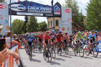 Last year, Stage 3 of the 2013 USA Pro Challenge kicked off in Breckenridge. Riders rode from town over Rabbit Ears Pass for a stage finish in Steamboat Springs. Breckenridge will host the finish of Stage 5 this year.