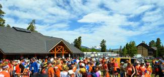 More than 1,000 supporters showed up Saturday for the inaugural Rob Millisor Heart Health Walk in Breckenridge.