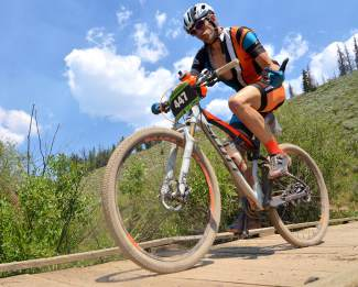 Scenes from the 2016 Breck 100 mountain bike race on July 16. More than 350 mountain bikers from across the state and nation came for a full day of riding on three local loops in three divisions: a 32-mile lap on the Colorado Trail, a 68-mile race on the CT and Boreas Pass to Como, and the full 100-mile race on both loops with an early-morning loop on Wheeler Pass.