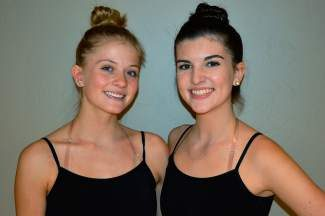 Summit Right Brain: Olivia Roy and Kaylin Lilly play the witches in Alpine Dance Academy's 'Land of Oz'