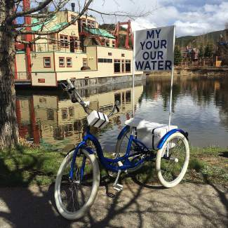 Summit Right Brain: Erin Sotak uses her art to engage people on water issues