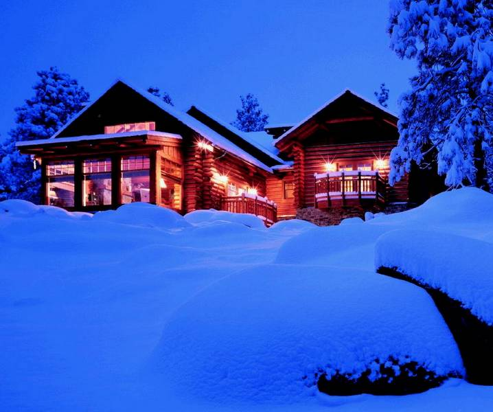An Orvis Log Home To Hang Your Hat Summitdaily Com