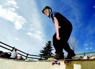 Taylor Troutman drops in April 2013 into the bowl at the Silverthorne skate park and Rainbow Park. On Sunday, May 4, the Summit County Coroner's Office reported Troutman, 22, died in his sleep.