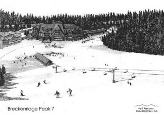 Special to the Daily/Colorado Tourism Office A rendering shows the future layout of Breckenridges Peak 7.