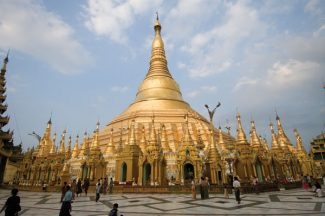 Special to the Daily/Bob  WinsettShwedagon Pagoda in Yangon.