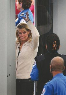 Special to the Daily Lynn Myers of Silverthorne was surprised to find her TSA photo wound up online.