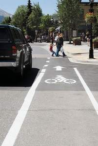 Summit Daily file photo Plenty of dedicated bike lanes are part of what's made Breckenridge a favorite spot for cyclists.