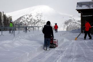 Arapahoe Basin/Kimberly TrembearthArapahoe Basin has received 14 inches of new snow in the past two days.
