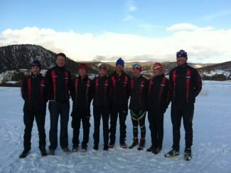 special to the dailyThe Summit Nordic Ski Club skied to stellar results at the Junior National Cross-Country Championships at Soldier Hallow in Utah. The team consisted of Wade Rosko, Tucker McCrerey, Jackson Hill, Taeler McCrerey, Joel Sawyer, Henry Trowbridge, Cameron Bob and head coach Joe Howdeyshell (not in order).