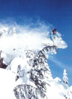 Special to the Daily/BudFawcett.com Craig Kelly in 1992. By the early 1990s, Kelly had quit competition to focus on freeriding.
