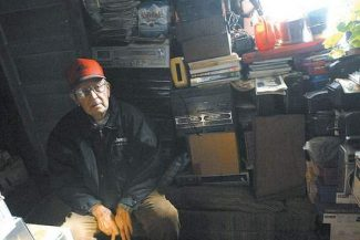 Daily file photo/Mark FoxWalt Goff in his Frisco cabin in 2008.