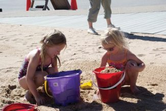 Special to the DailyTwenty-three teams participated in last year's inaugural sandcastle competition at Frisco Bay Marina.
