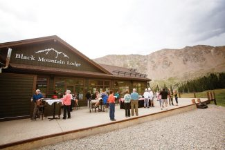 Special to the DailyArapahoe Basin's Black Mountain Lodge opened in 2007. Chef Rybak oversees the fare both summer and winter.
