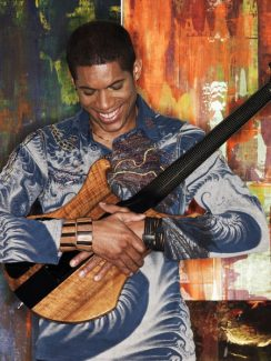Special to the DailyThe multi-talented musician, Stanley Jordan, plays Copper Genuine Jazz & Wine this weekend.
