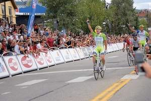 Daily file photo Fans line the course in Breckenridge last year as Elia Viviani crossed the finish line to win Stage 5. This year Breck hosts a race start.