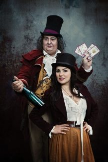 Special to the Daily/Nick Heavican/Metropolitan OpAmbrogio Maestri as Dr. Dulcamara and Anna Netrebko as Adina in Donizetti's 'L'Elisir d'Amore,' to be broadcast on Oct.13 at CMC Breck.