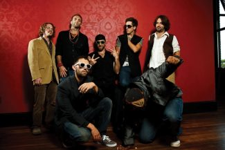 Special to the Daily/Dean SchreuderFunktion promises a fun, free, funk show at Alma's Only Bar tonight. Band member Hugh Little compares the group's sound to what would happen if you put 'James Brown, the Chili Peppers, 311, Duke Ellington and Al Green in a gigantic blender.'