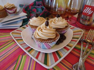 Special to the DailyTriple coffee cupcakes