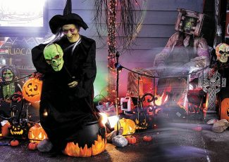 Summit Daily/Mark FoxMain Street Frisco comes alive with tricks, treats, witches and ghouls on Halloween each year.