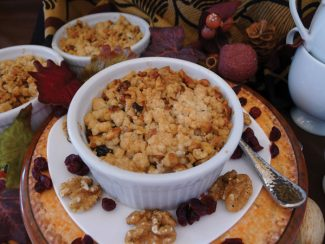 Special to the DailyPear-Cranberry Crisp