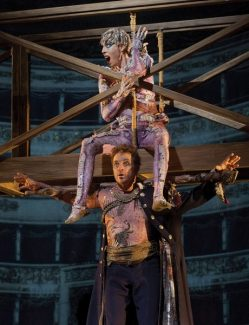 Ken Howard/Metropolitan OperaThe New York Metropolitan Opera's production of 'The Tempest' will be simulcast in high definition Saturday at Colorado Mountain College in Breckenridge. Pictured: Simon Keenlyside and Audrey Luna.