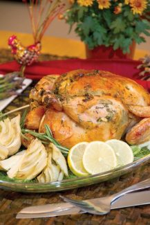 Special to the DailyRoasted Lemon Chicken with Fennel