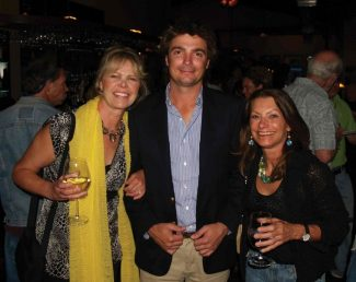 Special to the Daily/Jim Patalan   Having fun at the Breckenridge Festival of Film in June, from left to right:Dianna Nilsson, programming director, Adolfo Basso, Argentinian winemaker with the documentary film, 'Boom Varietal' and Pam Benison, filmgoer.