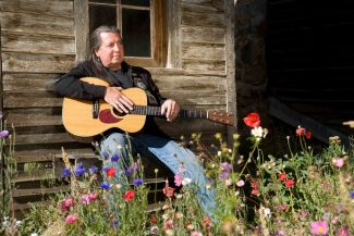 Special to the Daily/Timothy FaustThe format of Sunday's 'Circle of Dreams' concert is 'inspired by the ancient tradition of storytellers teaching children about life,' said Leon Joseph Littlebird, who collaborated with Len Rhodes and Jeff Shook on the project.