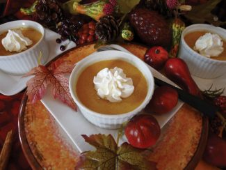 Special to the DailyPumpkin Pots de Creme