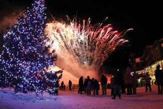 Special to the Daily/Copper MountainCopper Mountain's first En Fuego of the year involves lighting the Christmas tree, bonfires and fireworks. The event starts at 5 p.m. in Burning Stones Plaza.