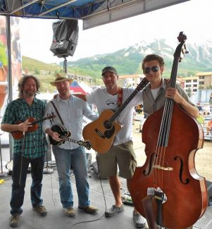 Special to the DailyParents can catch Chris Thompson and Coral Creek, a Front Range group that delivers jam-style country/newgrass, rock and island music, at Warren Station in Keystone Saturday afternoon while the kids play.