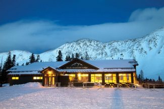 Special to the Daily/Casey Day/Arapahoe Basin Ski Skin up to Arapahoe Basin's Black Mountain Lodge; feast on cross-cultural cuisine by executive chef Christopher Rybak; then ski or ride down in the moonlight. Not a bad way to spend a Saturday night.