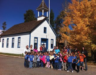 Special to the DailyMrs. Abbott's and Mrs. Rupert's kindergarten classes from Summit Cove Elementary on their first field trip to the Dillon Museum.