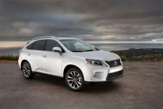 Special to the Daily2013 Lexus RX 350 AWD F Sport
