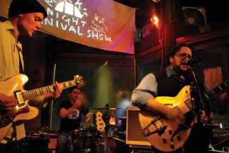 Special to the DailyMark's Midnight Carnival Show brings indie rock and an atmosphere to 'get free and let the music move you' at at Alma's Only Bar tonight.