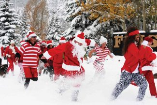 Frisco's Santa Dash - now a shorter dash for more cash - takes place Saturday at 3 p.m. and benefits Summit County Cares. The event is part of Frisco's weeklong Wassail Days, kicking off Saturday.