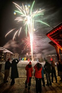 Special to the Daily/Tripp FayCopper will host two fireworks shows on New Year's Eve - one at 7 p.m. and one at 10 p.m. This photo is from the Christmas Eve fireworks show.