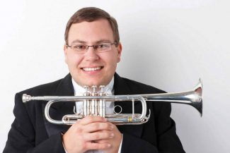 Special to the Daily/Todd RosenburgJustin Bartels, principal trumpet of the Colorado Symphony Orchestra, comes to Breckenridge Sunday to perform a holiday concert with his brass sextet, Bartels Brass.